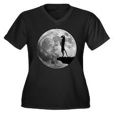 meerkat erdmännchen mond moon Plus Size T-Shirt
