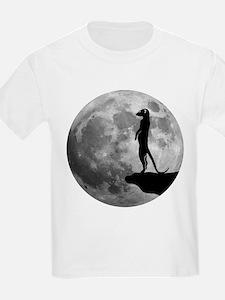 meerkat erdmännchen mond moon T-Shirt