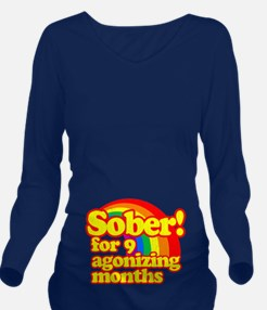Sober for 9 Agonizing Months (vintage look) Long S