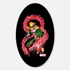Iron Fist Red Dragon Decal