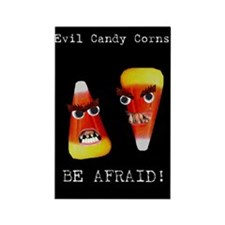 Evil Candy Corns Rectangle Magnet