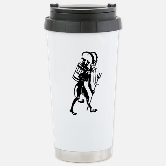 Krampus 008 Stainless Steel Travel Mug