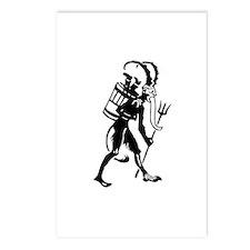 Krampus 008 Postcards (Package of 8)