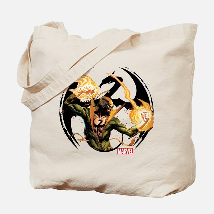 Iron Fist Glowing Fists Tote Bag