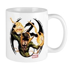Iron Fist Glowing Fists Mug