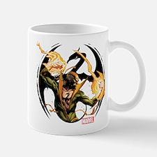 Iron Fist Glowing Fists Mug