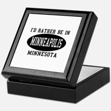 I'd Rather Be in Minneapolis, Keepsake Box