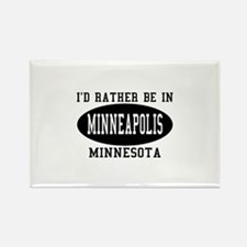 I'd Rather Be in Minneapolis, Rectangle Magnet