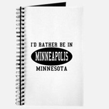 I'd Rather Be in Minneapolis, Journal