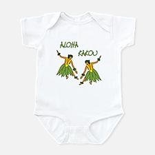 Hula dancers Infant Bodysuit