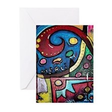 Cute Painting Greeting Cards (Pk of 20)