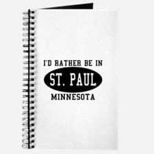 I'd Rather Be in St. Paul, Mi Journal