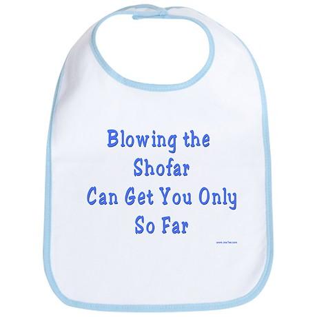 Blowing the Shofar Bib