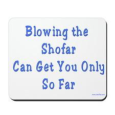 Blowing the Shofar Mousepad