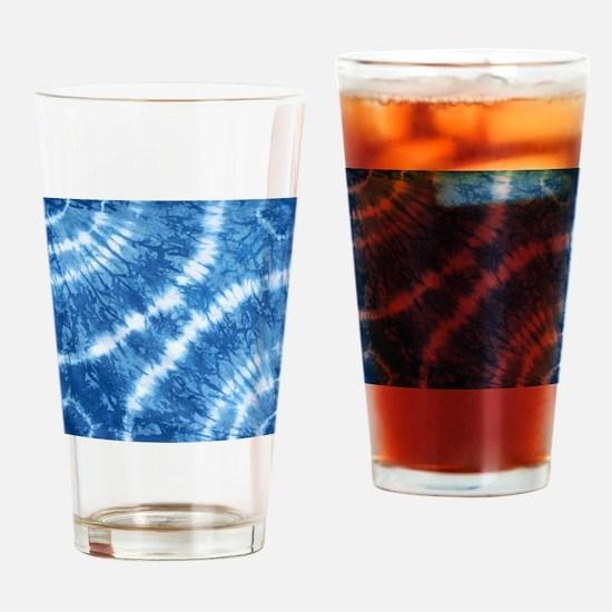 Shibori Drinking Glass