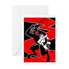 Krumpus 016 Card Greeting Cards
