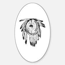 Dream Catcher Sticker (Oval)