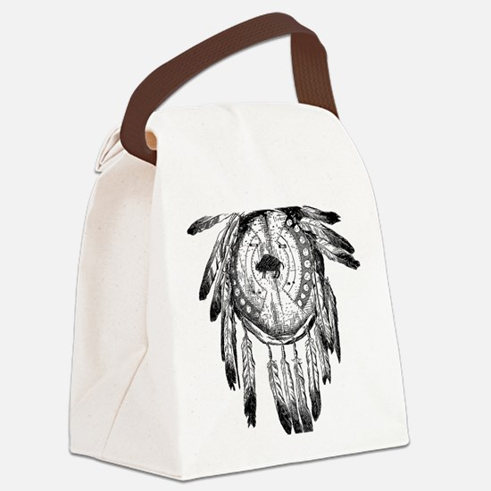 Dream Catcher Canvas Lunch Bag