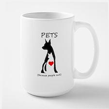 Pets-People Suck Mug