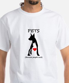 Pets-People Suck Shirt