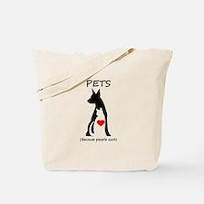 Pets-People Suck Tote Bag