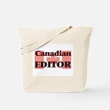 Canadian Editor Tote Bag