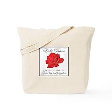 Lady Diana - Rose Tribute Tote Bag