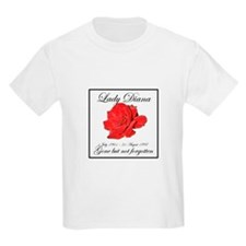 Lady Diana - Rose Tribute T-Shirt