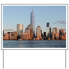 New York City Skyline Yard Sign