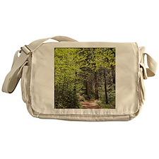 Forest Trail Messenger Bag