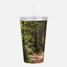 Forest Trail Acrylic Double-wall Tumbler