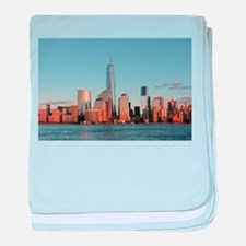 Lower Manhattan Skyline, New York Cit baby blanket