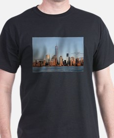 Lower Manhattan Skyline, New York City T-Shirt