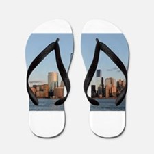 Lower Manhattan Skyline, New York City Flip Flops