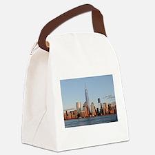 Lower Manhattan Skyline, New York Canvas Lunch Bag
