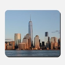Lower Manhattan Skyline, New York City Mousepad