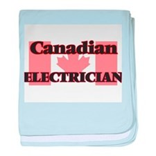 Canadian Electrician baby blanket