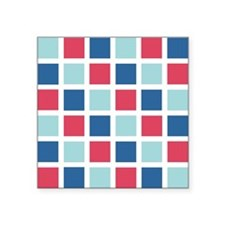"COLOR GRID Square Sticker 3"" x 3"""