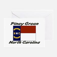 Piney Green North Carolina Greeting Cards (Pk of 1