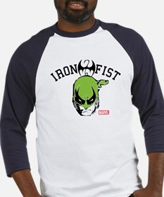 Iron Fist Head Baseball Jersey
