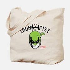 Iron Fist Head Tote Bag