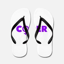 Female Coder (Pink) Flip Flops
