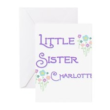 Little Sister Charlotte Greeting Cards (Pk of 10)
