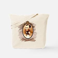 Jesse James Portrait Tote Bag
