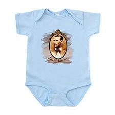 Jesse James Portrait Infant Bodysuit