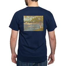 Seine at Grande Jatte by Seurat T-Shirt