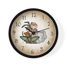 Cute Elephant theme Wall Clock