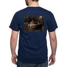The Lady of Shalott by Waterhouse T-Shirt