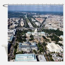 WASHINGTON DC Shower Curtain