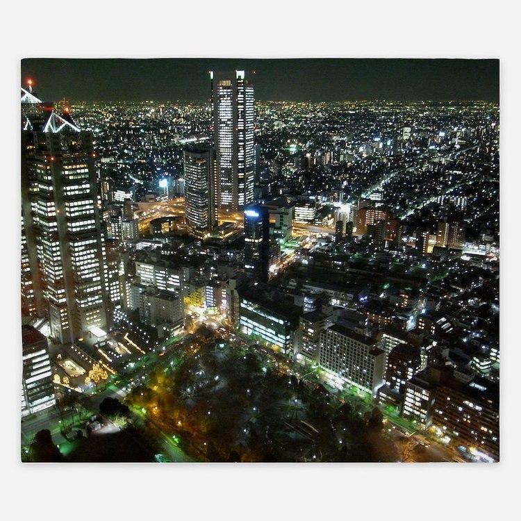TOKYO NIGHT King Duvet